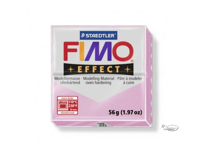 Fimo hmota Effect Pastel - 205 Růžová