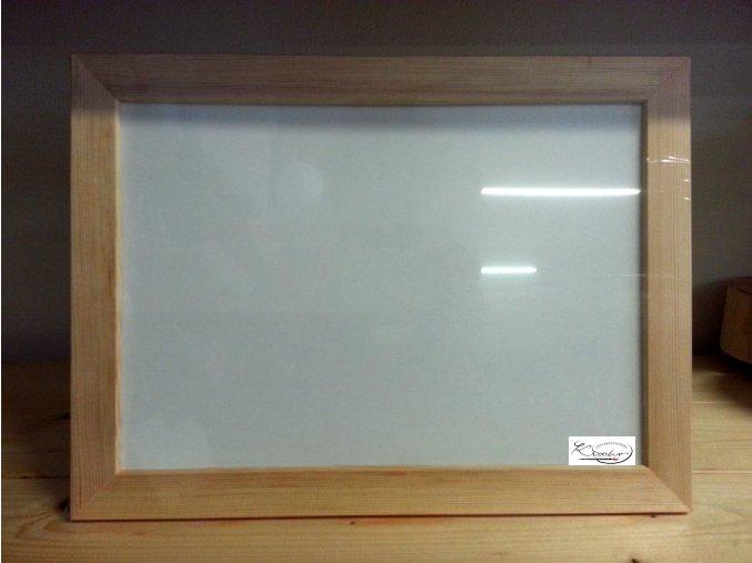 Rámeček dřevo 21x30x2,5cm