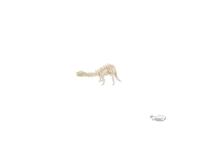 Dřevěná skládačka 3D puzzle - Gigantspinosaurus