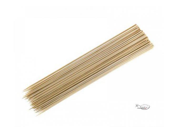 Dřevěné špejle 2,5 mm x 20 cm
