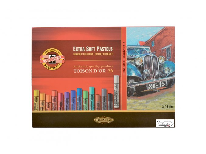 TOISON D´OR 36 - Extra soft pastels