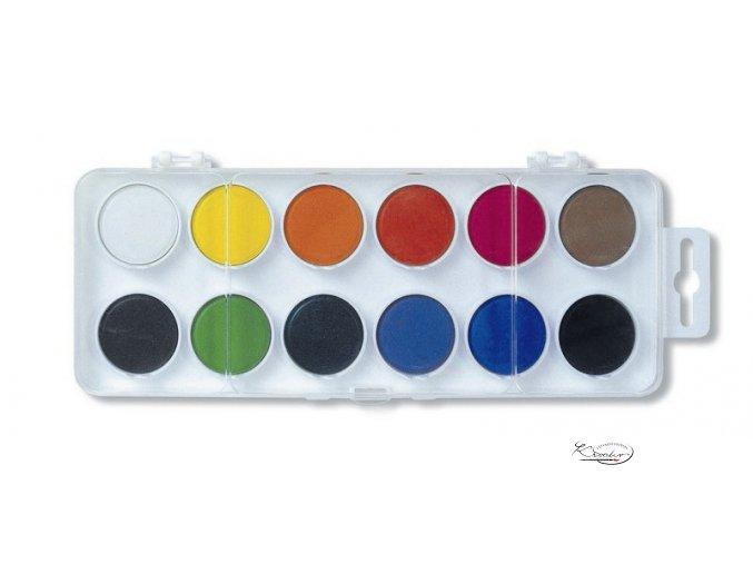 Vodové barvy Koh-i-noor 22,5mm