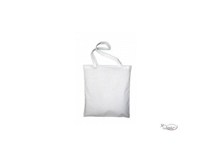 Taška bavlněná  42x38 cm -  Bílá