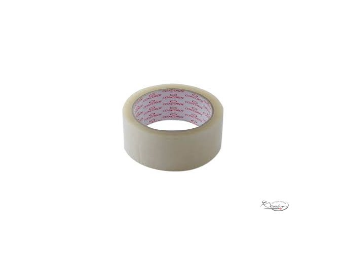 Lepicí páska transparentní 38x66 cm