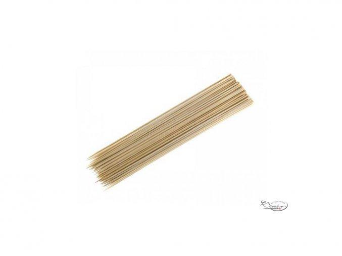 Dřevěné špejle 5mm x 30cm