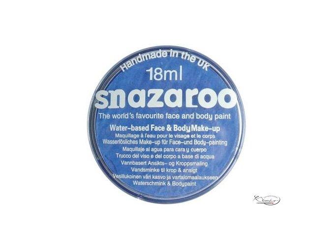 Barva na obličej Snazaroo 18ml - 355 Nebeská modrá