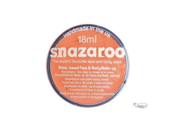 Barva na obličej Snazaroo 18ml - 551 Meruňková