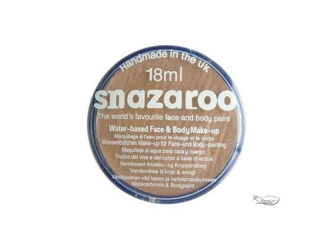 Barva na obličej Snazaroo 18ml - 909 Béžová