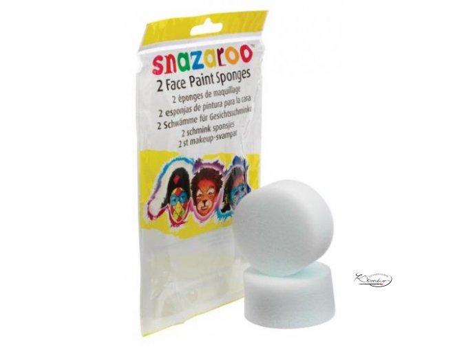 Houbička Snazaroo na obličejové barvy 2ks