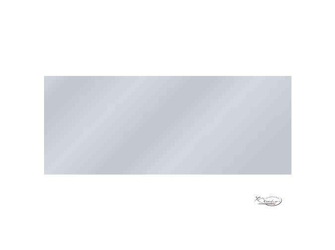 Hedvábný papír 50x70 cm 20g - stříbrný, jednostranný