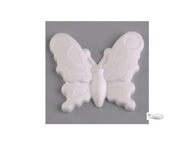 Polystyren Motýl 11x12,5 cm