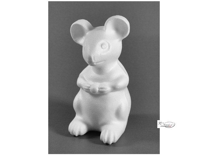 Polystyren Myška 14x8,5 cm