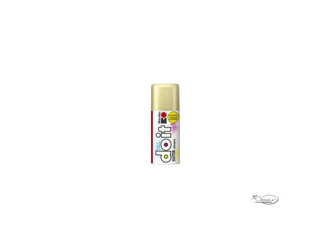 Do-it Color spray Glitter - Gold 584