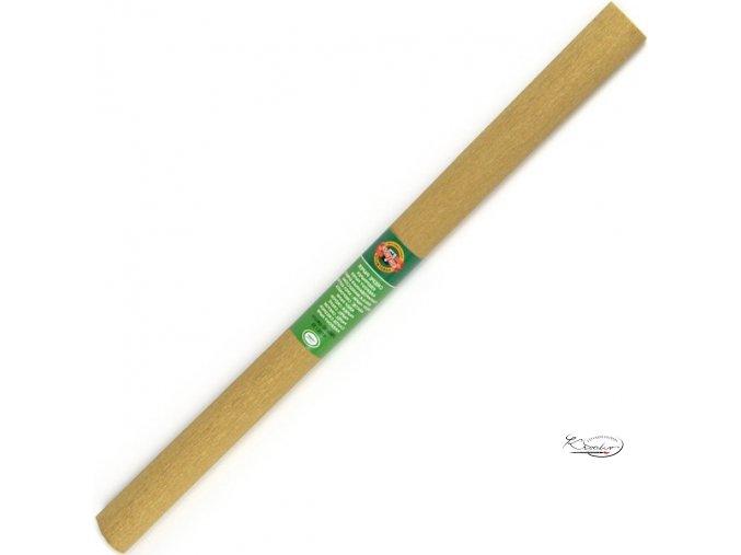 Krepový papír - zlatý 200x50cm
