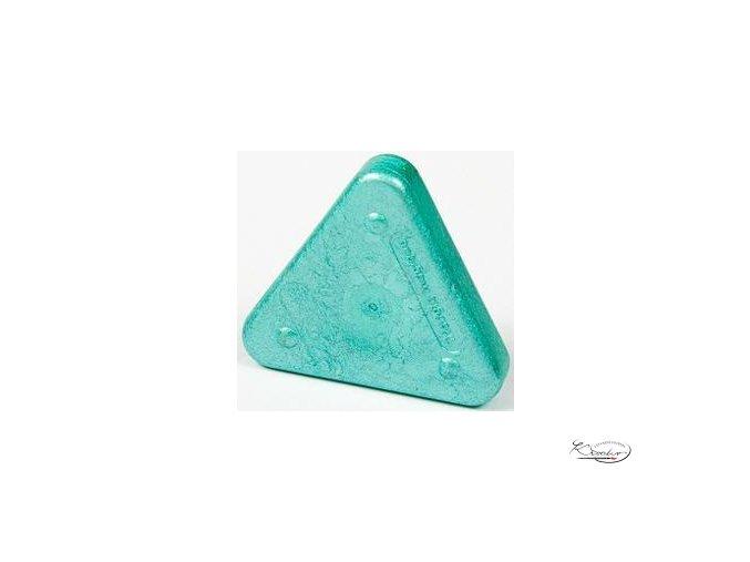 Vosková pastelka Triangle Magique Metallic - zelená metalická