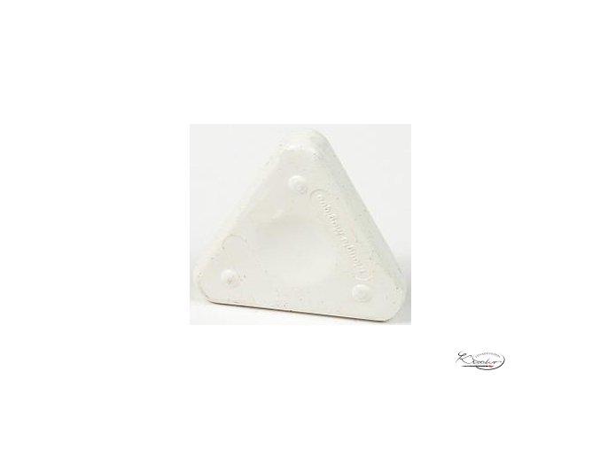 Vosková pastelka Triangle Magique Basic - bílá