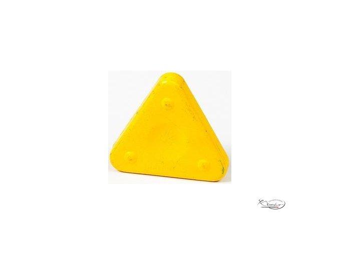 Vosková pastelka Triangle Magique Basic - žlutá