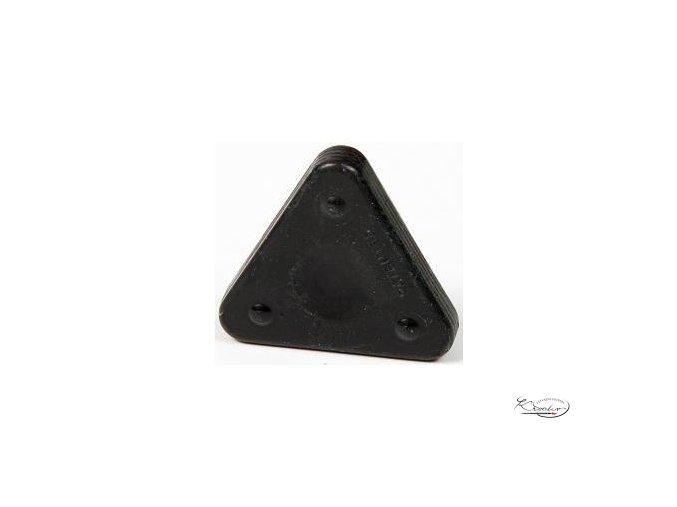 Vosková pastelka Triangle Magique Basic- černá
