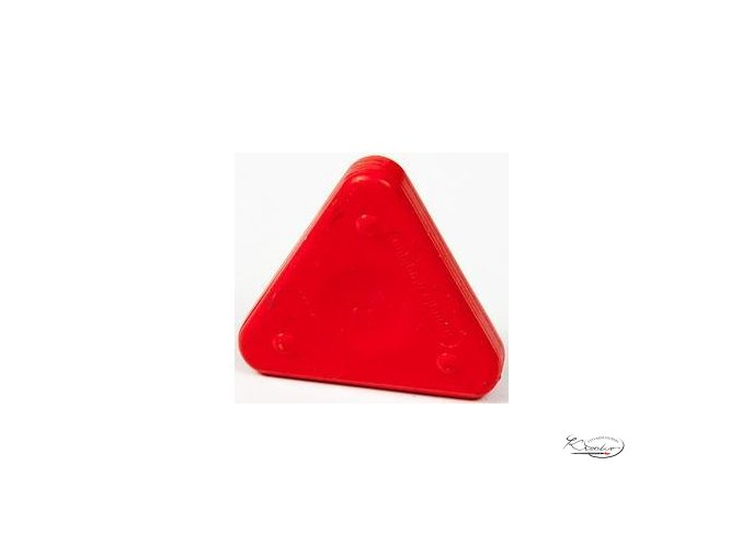 Vosková pastelka Triangle Magique Neon - rumělková