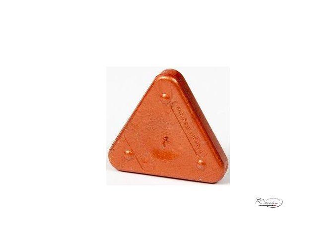 Vosková pastelka Triangle Magique Metallic - rudě měděná