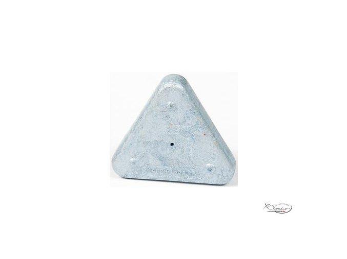 Vosková pastelka Triangle Magique Metallic - stříbrná
