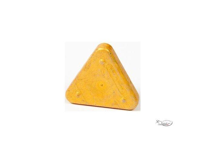 Vosková pastelka Triangle Magique Metallic - zlatá