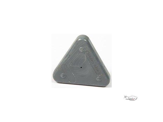 Vosková pastelka Triangle Magique Pastel - šedá