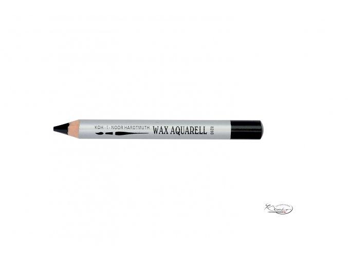 Wax Aquarell pastelka - 36 černá
