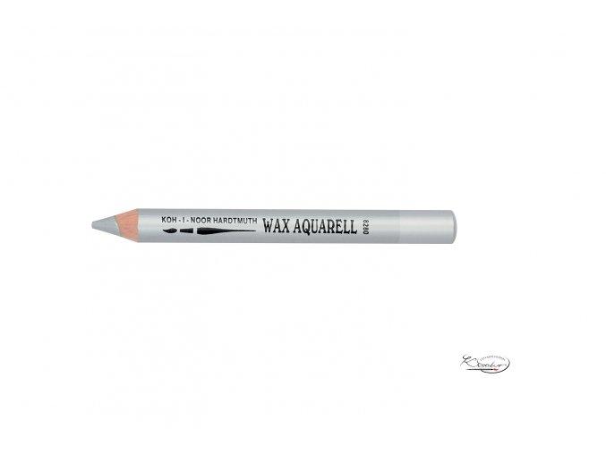 Wax Aquarell pastelka - 39 stříbrná