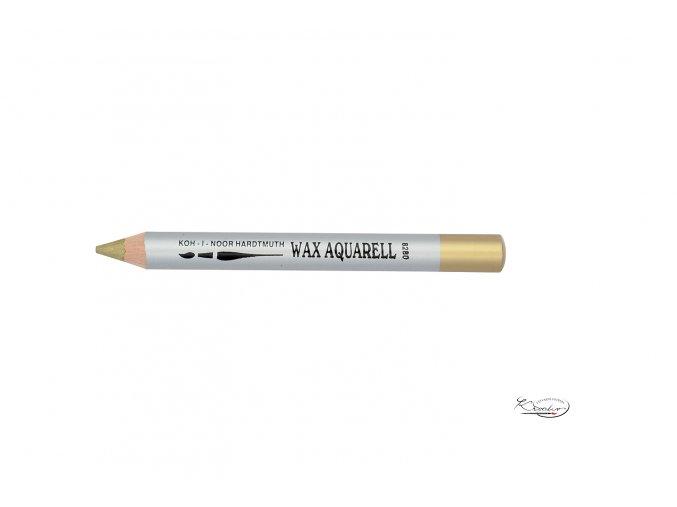 Wax Aquarell pastelka - 40 zlatá