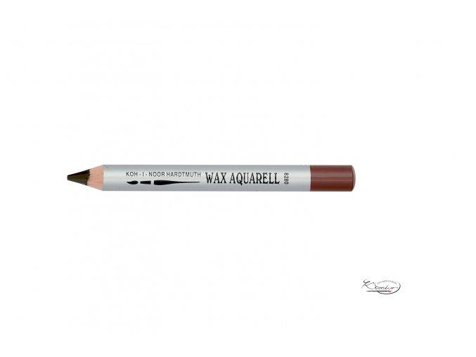 Wax Aquarell pastelka - 32 hnědá