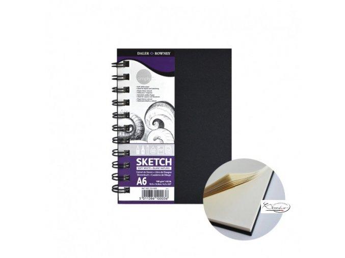 Blok Simply Sketch A6