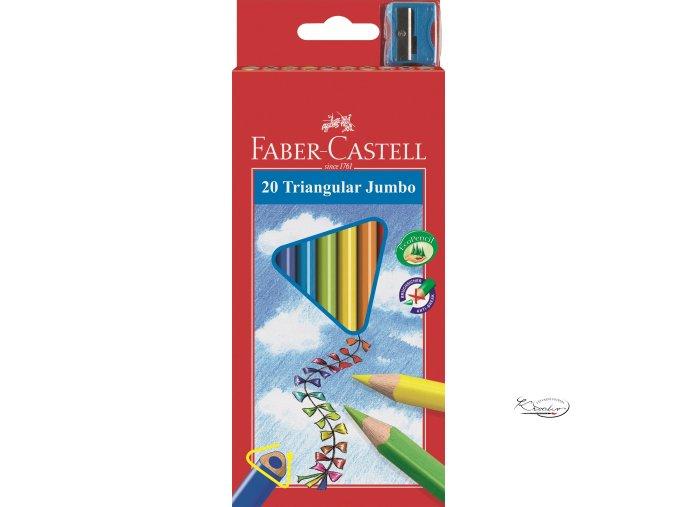 Pastelky Junior Jumbo 20 ks