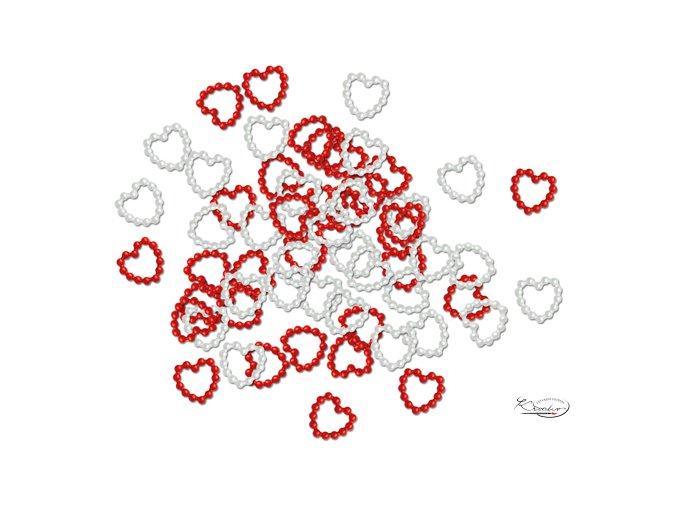 Srdíčka dekorační
