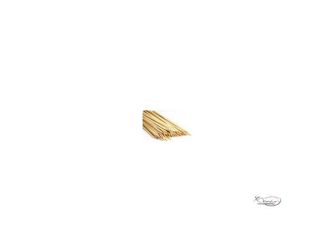 Dřevěné špejle 3mm x 30 cm