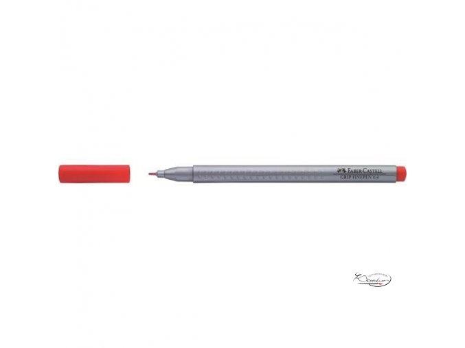 Grip Finepen 0,4 mm - červený