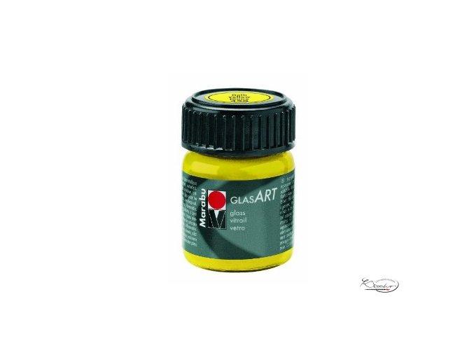 GlasArt Marabu 15 ml - 420 Žlutá