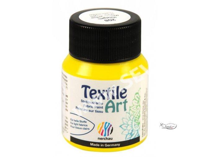 Textile Art 59 ml - 208 Žlutá