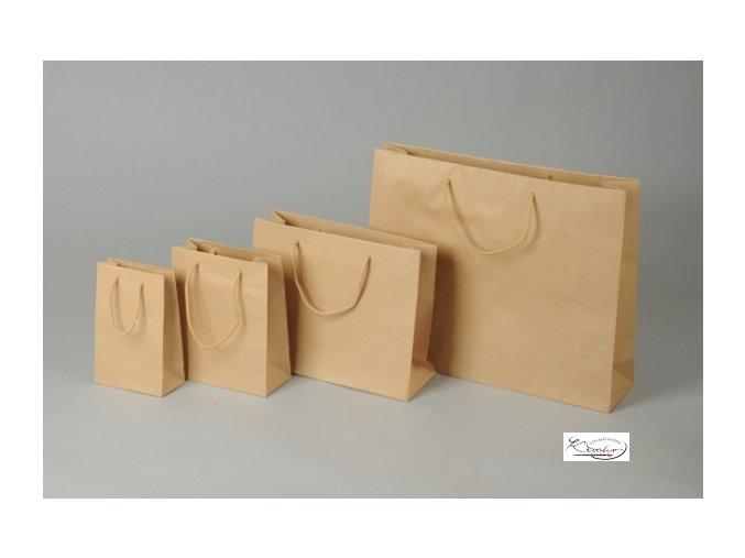 Taška papírová 19x24x8cm  Taška papírová 19x24x8cm