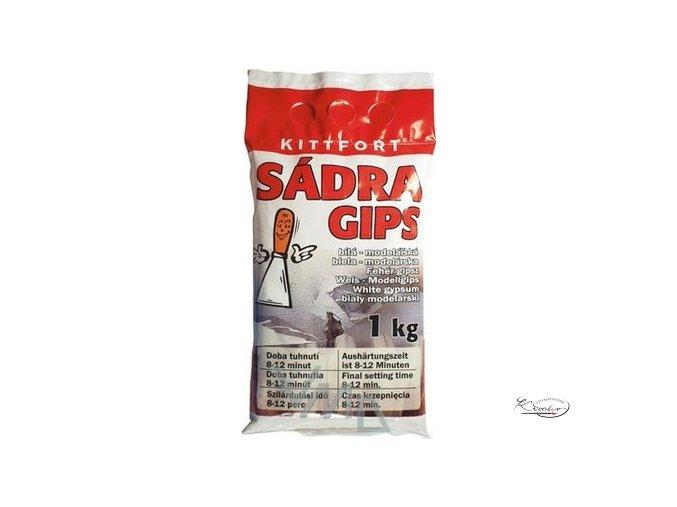 Sádra bílá - modelářská 1 kg