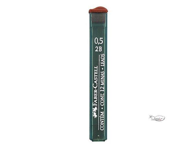 Grafitové tuhy 0,5 mm 2B Faber Castell