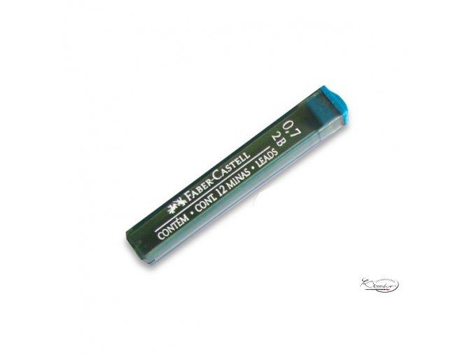 Grafitové tuhy 0,7 mm 2B Faber Castell