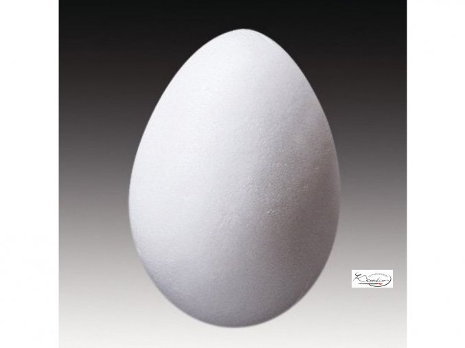 12318 vejce polystyren 12 cm