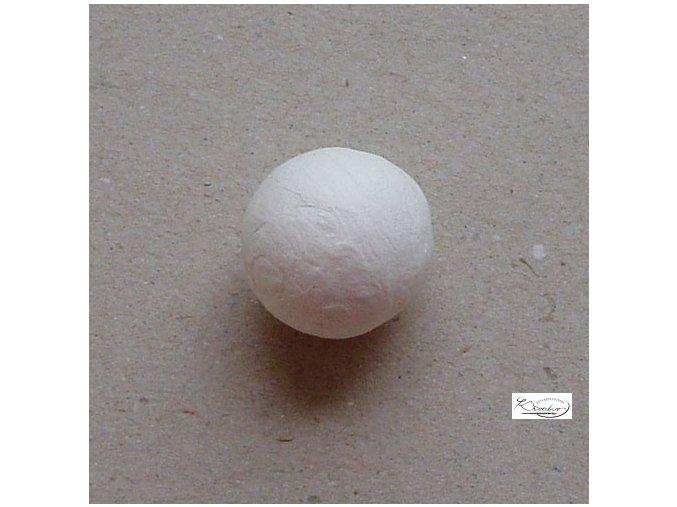 Vatové kuličky - bílé 24 mm/4 ks