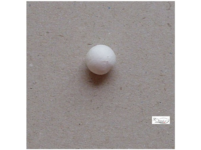 Vatové kuličky - bílé 12 mm/10 ks