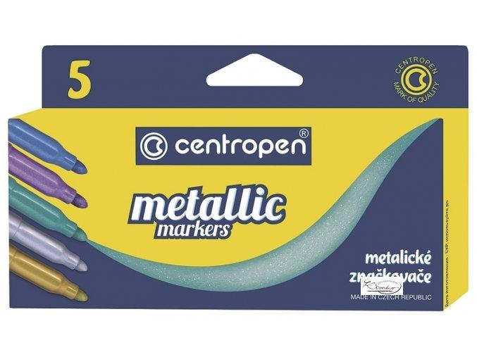 Popisovač metalický Centropen 8690 - 5ks