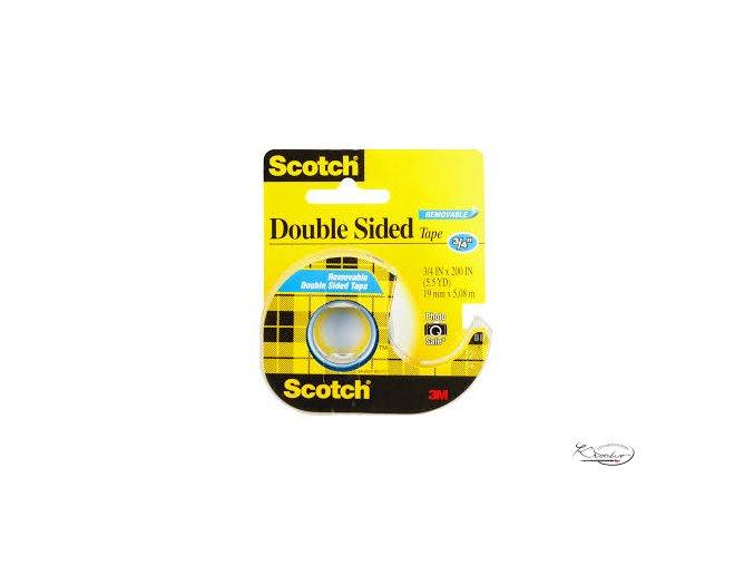 Lepicí páska Scotch Double Sided 12,7x6,3 mm