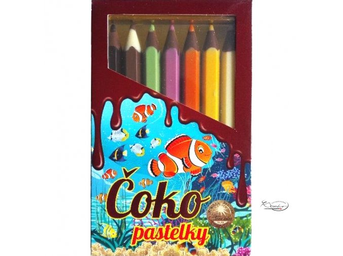 Čokoládové pastelky