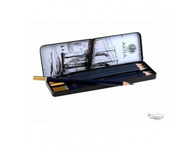 Sada grafitových tužek Artea 6