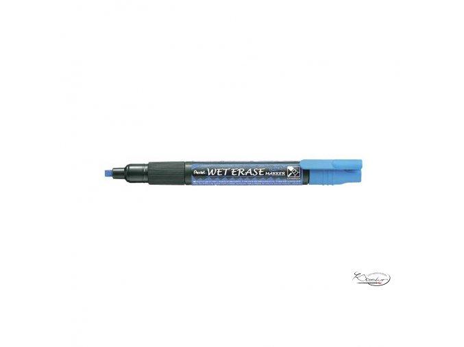 Popisovač křídový Pentel - modrý